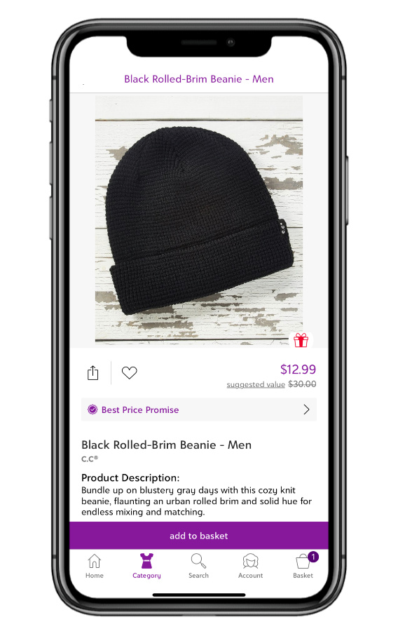 Best men's gifts on sale at Zulily: Classic beanies in lots of colors (sponsor)