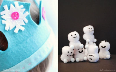 5 fun Frozen 2 crafts for kids, because we get it. They're obsessed. Again.