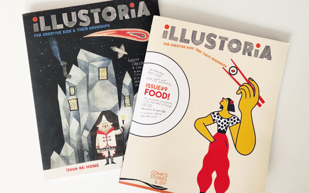 Illustoria is the perfect gift for your favorite thinking kid.