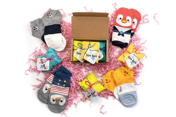 Cool gifts under $15: K-socks gift box of cute Korean socks