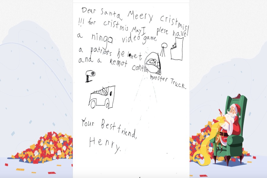 Adopt a letter to Santa and make a child's holiday wish come true