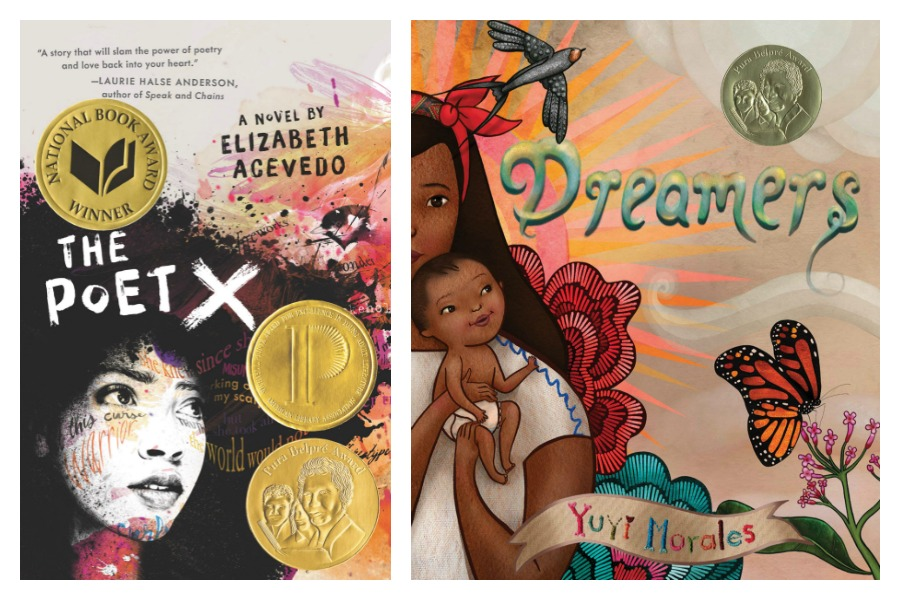 Best children's books of 2019: The Pura Belpré award winners | The Poet X by Elizabeth Acevedo and Dreamers by Yuyi Morales