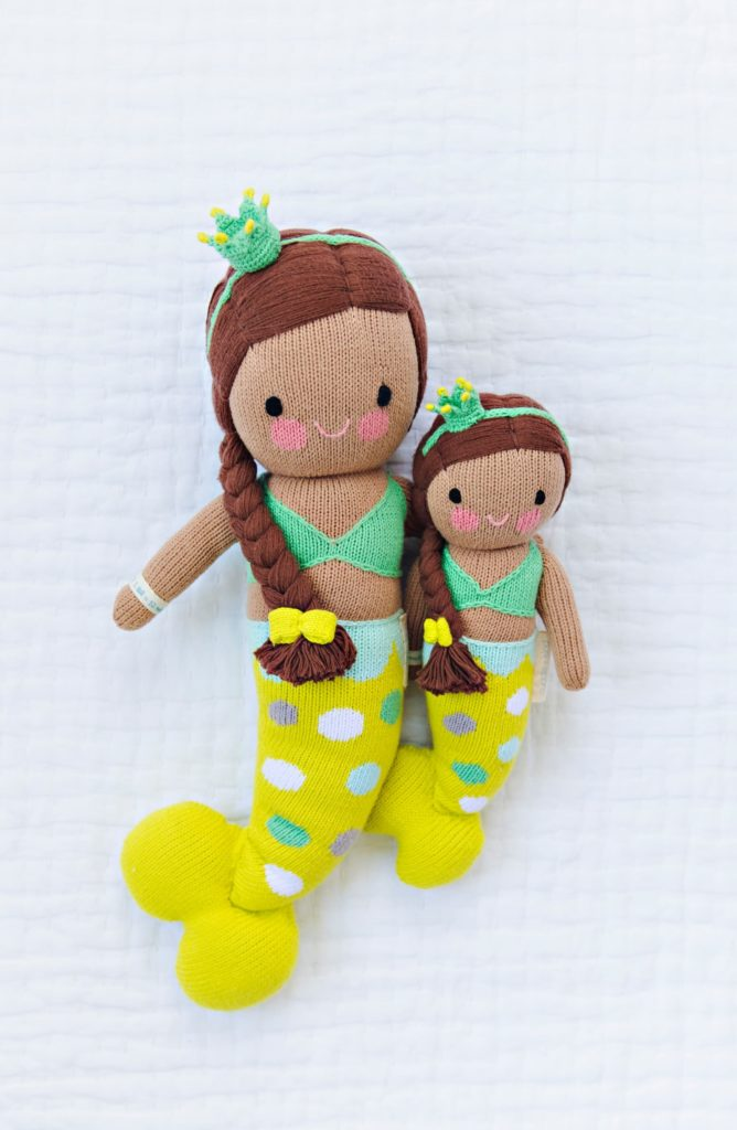 Gifts that Give Back: Cuddle & Kind hand-knit dolls feed hungry children