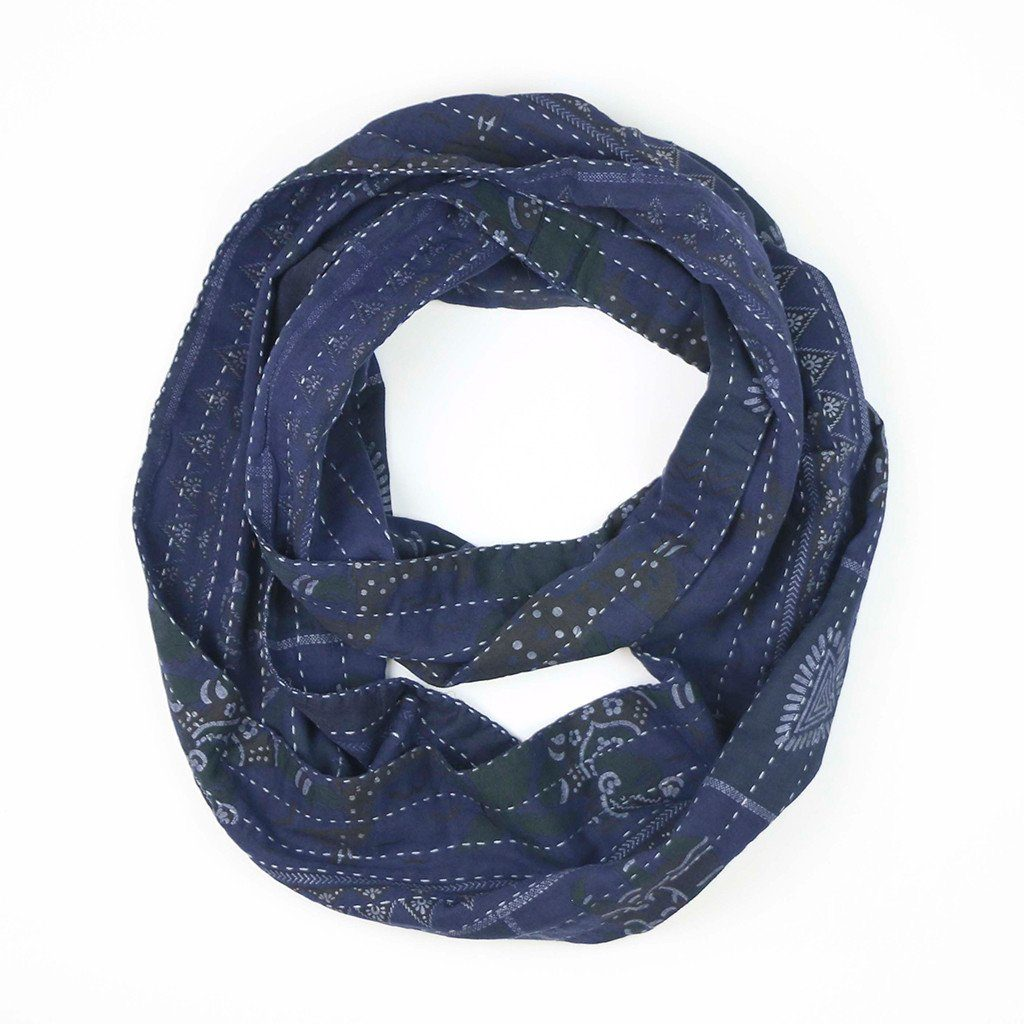 Gifts that give back: Infinity scarf from vintage saris from To the Market