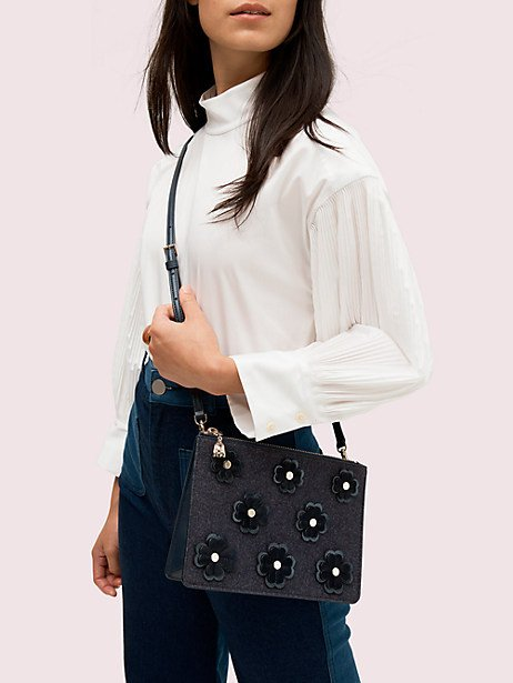 Gifts that give back: Kate Spade On Purpose floral crossbody