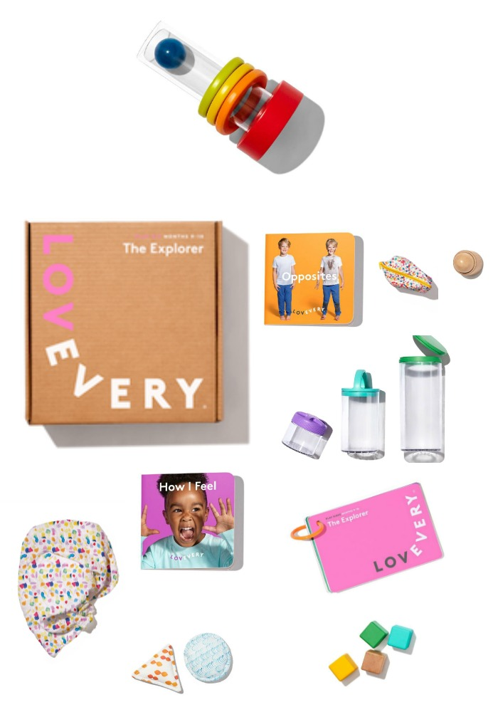 Love Every Baby offers a carefully curated subscription box for babies, with developmental toys tailored to each developmental stage in the first year. Wow, what a gift.