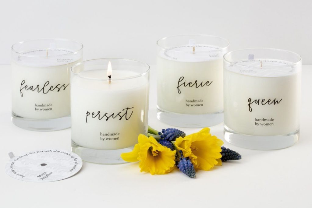 Gifts that give back: She Inspires collection of candles from Prosperity Candles, lifting women out of poverty