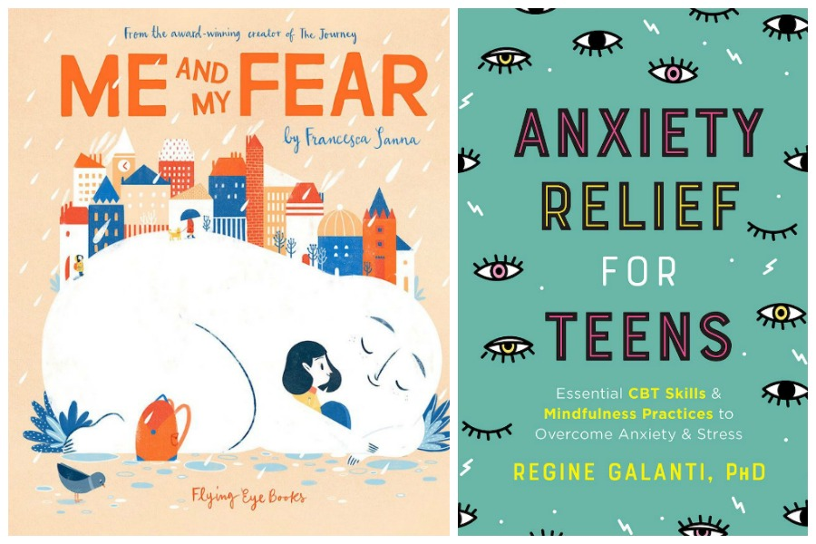 10 books to help kids and teens cope with anxiety during Covid 19. Because it may be getting harder, not easier.
