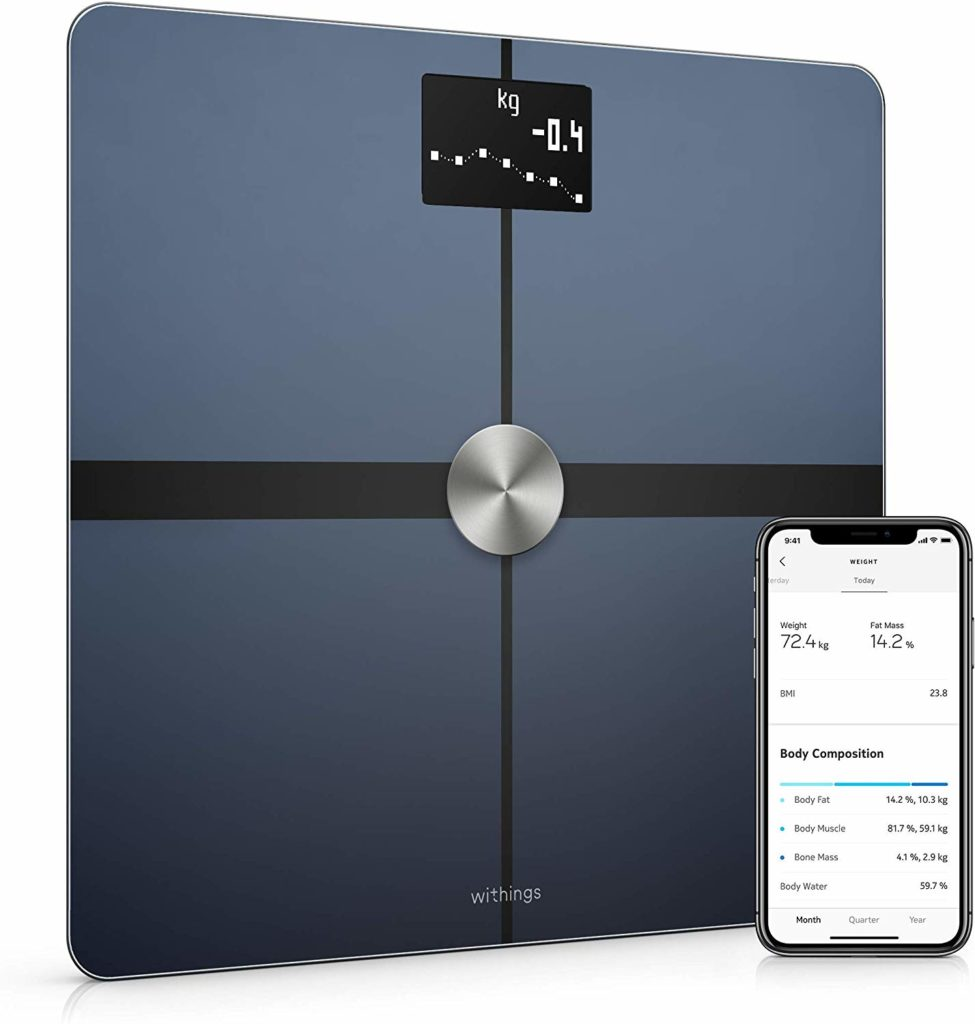 The Withings Body Plus Smart Scale is keeping us on track with our weight and fitness goals for the new year