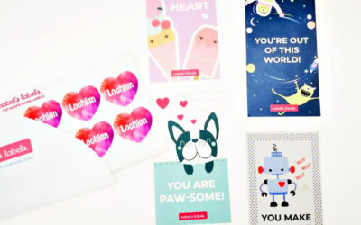 Valentine's hack to help make all those preschool classroom cards easier. For both of you.