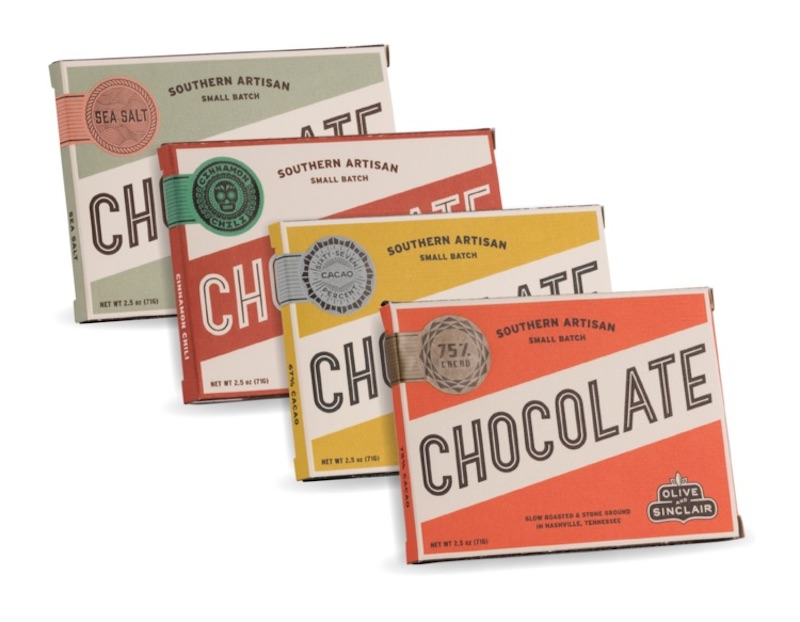 Valentine's Day gift ideas for boys: Olive & Sinclair chocolate bars