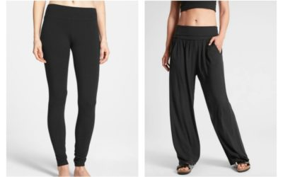 5 of our favorite sweatpants and leggings. Because right now, we're not wearing anything else.