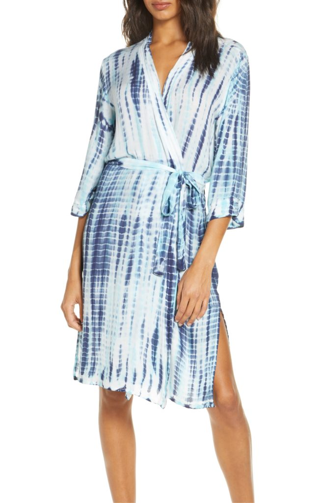 5 stylish comfy robes for quarantine: PJ Salvage tie-dye robe