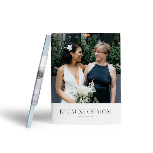 Meaningful Mother's Day gifts for mom or grandma: A personalized photo album | Mother's Day Gift Guide