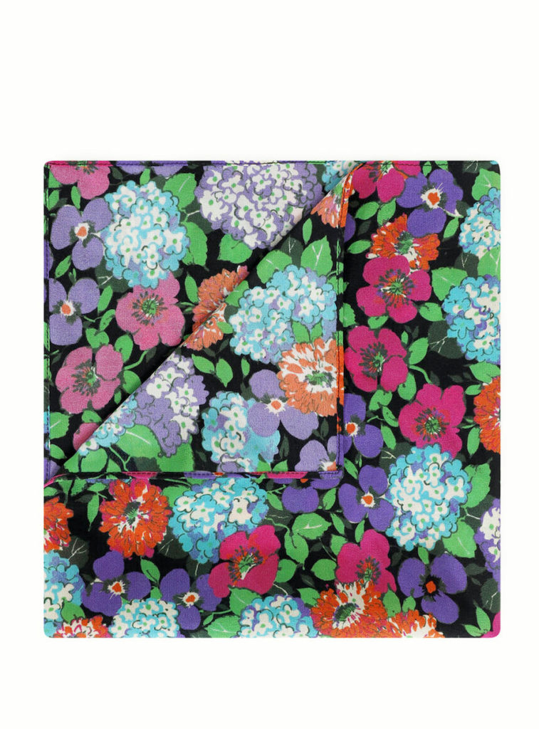 Mother's Day gifts that give back to Covid relief and healthcare workers: ba&sh floral scarf