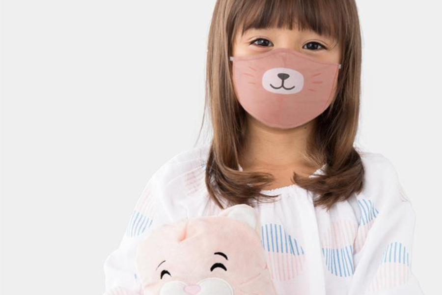 Cute animal face masks for kids make time outside feel more like Halloween than Quarantine