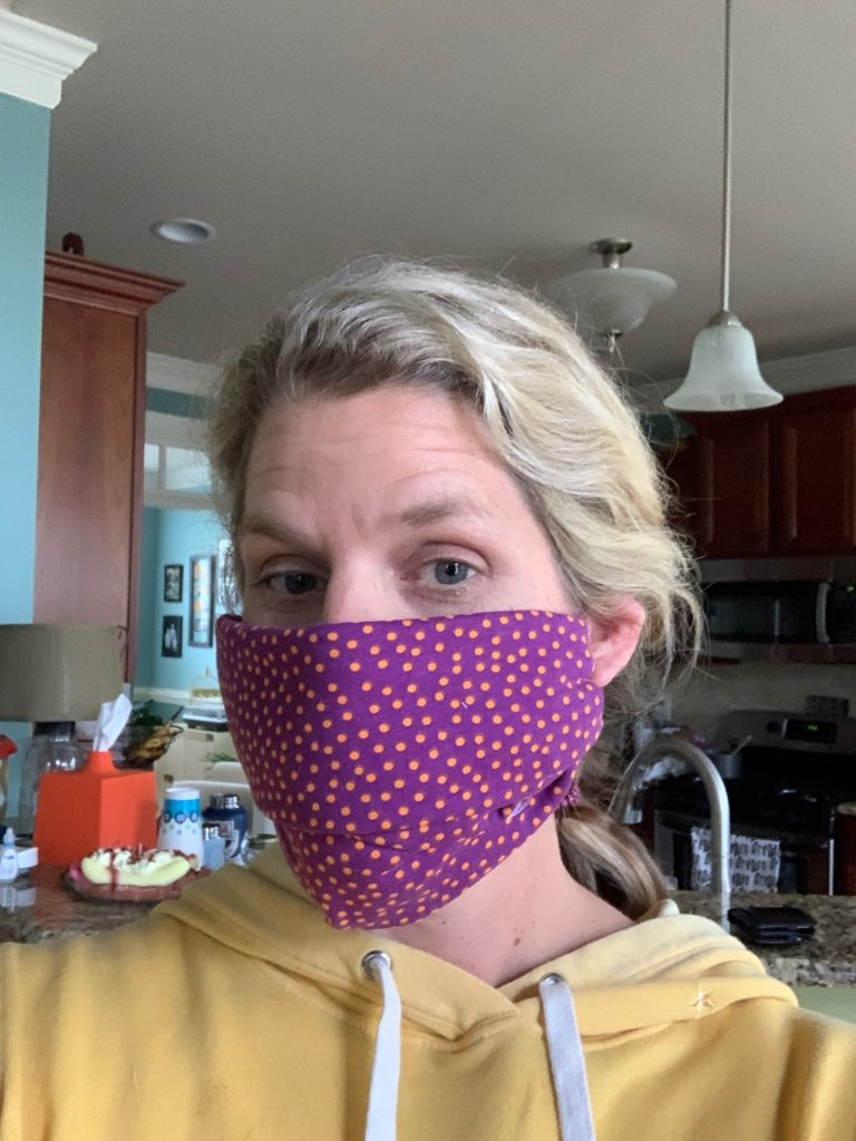 The world's easiest DIY face mask tutorial, no sewing ...