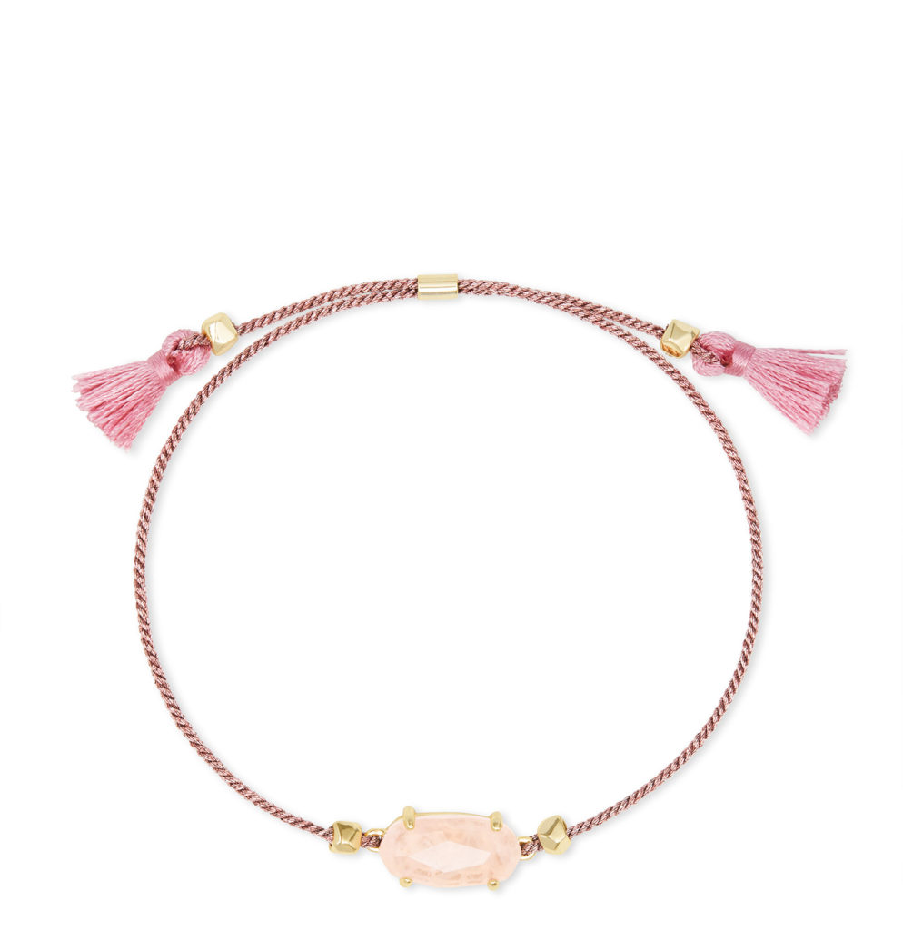 Mother's Day gifts that give back to Covid relief and healthcare workers: Kendra Scott rose quartz bracelet