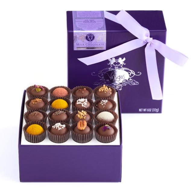 Meaningful Mother's Day gifts: Her favorite chocolates she'd never splurge on herself. These from Vosges