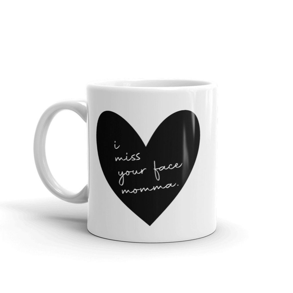 Meaningful Mother's Day gifts for mom or grandma: A special new mug to make her think of you every day | Mother's Day Gift Guide