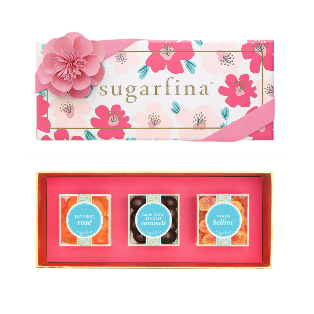 Gifts for mom from the kids: Mother's Day candy boxes from Sugarfina | Mother's Day Gift Guide