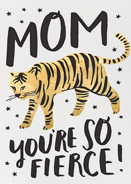 Great Mother's Day ecards: You're So Fierce by Hello! Lucky at Paperless Post