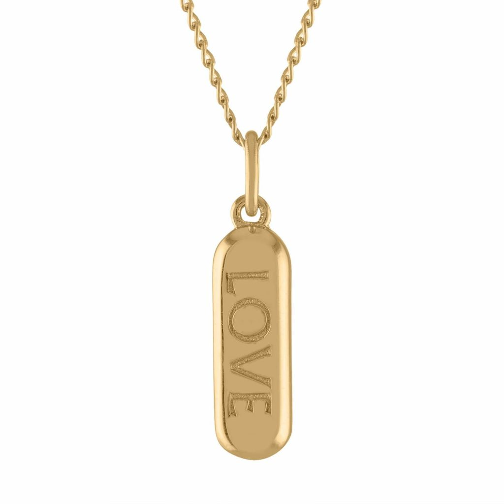 Mother's Day gifts that give back to Covid relief and healthcare workers: Love Pill pendant from Maison Miru