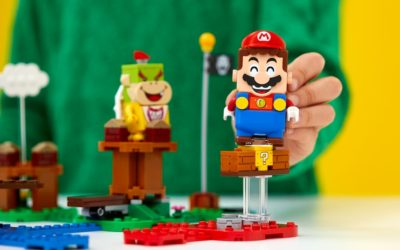 So who's ready for a cool new LEGO set? LEGO Super Mario to the rescue!