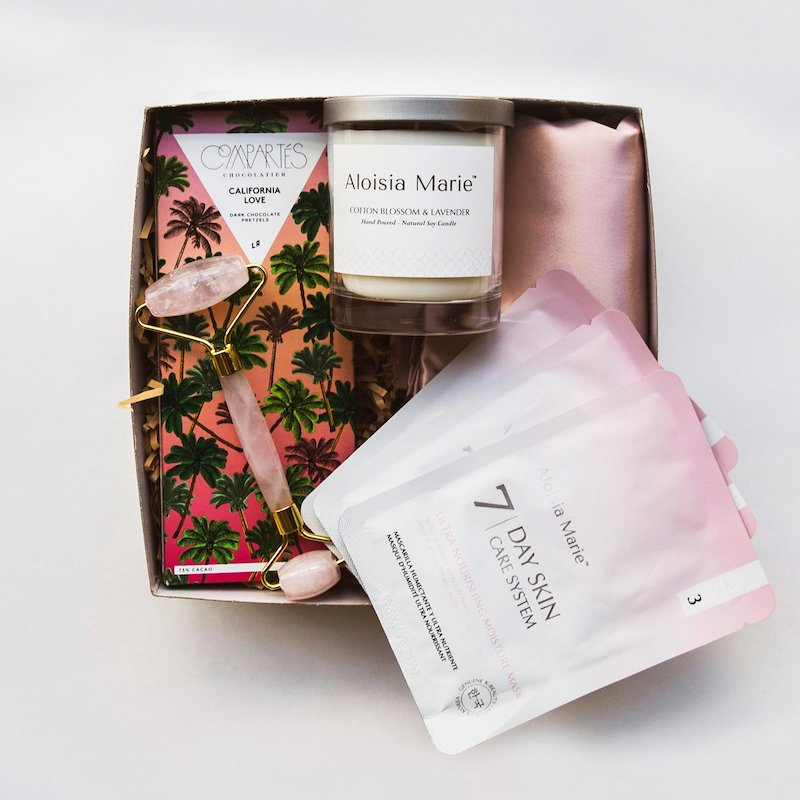 Self-care gifts for moms: A beauty set from Aloisia Marie Beauty