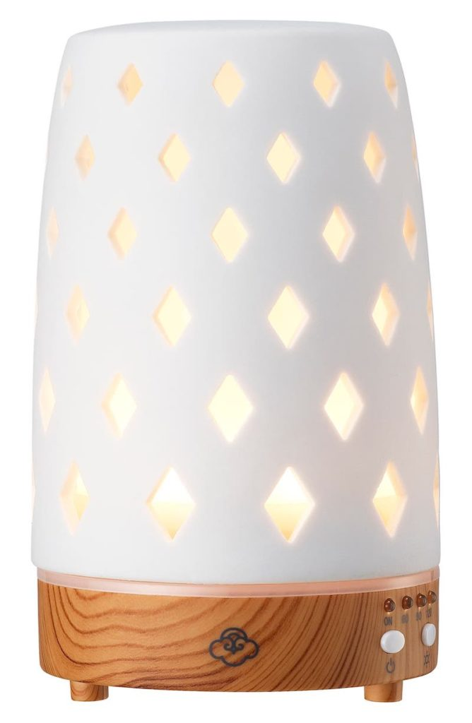 Self-care gifts for moms: An ultrasonic essential oils diffuser for serenity now!