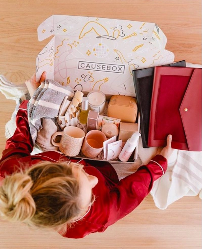 Subscription gift ideas for moms: A Causebox subscription is the perfect gift for the socially conscious mom.
