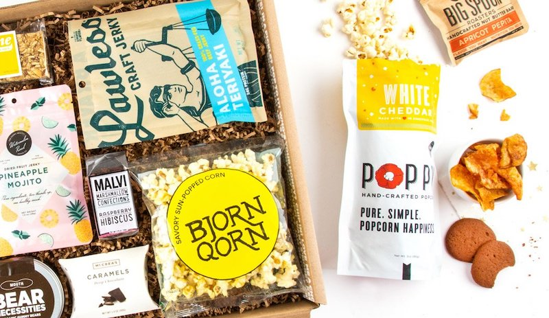 Subscription gifts for moms: Gourmet snacks each month from Mouth