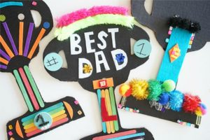 Love this DIY Father's Day trophy idea from Meri Cherry for our Best Dads Ever