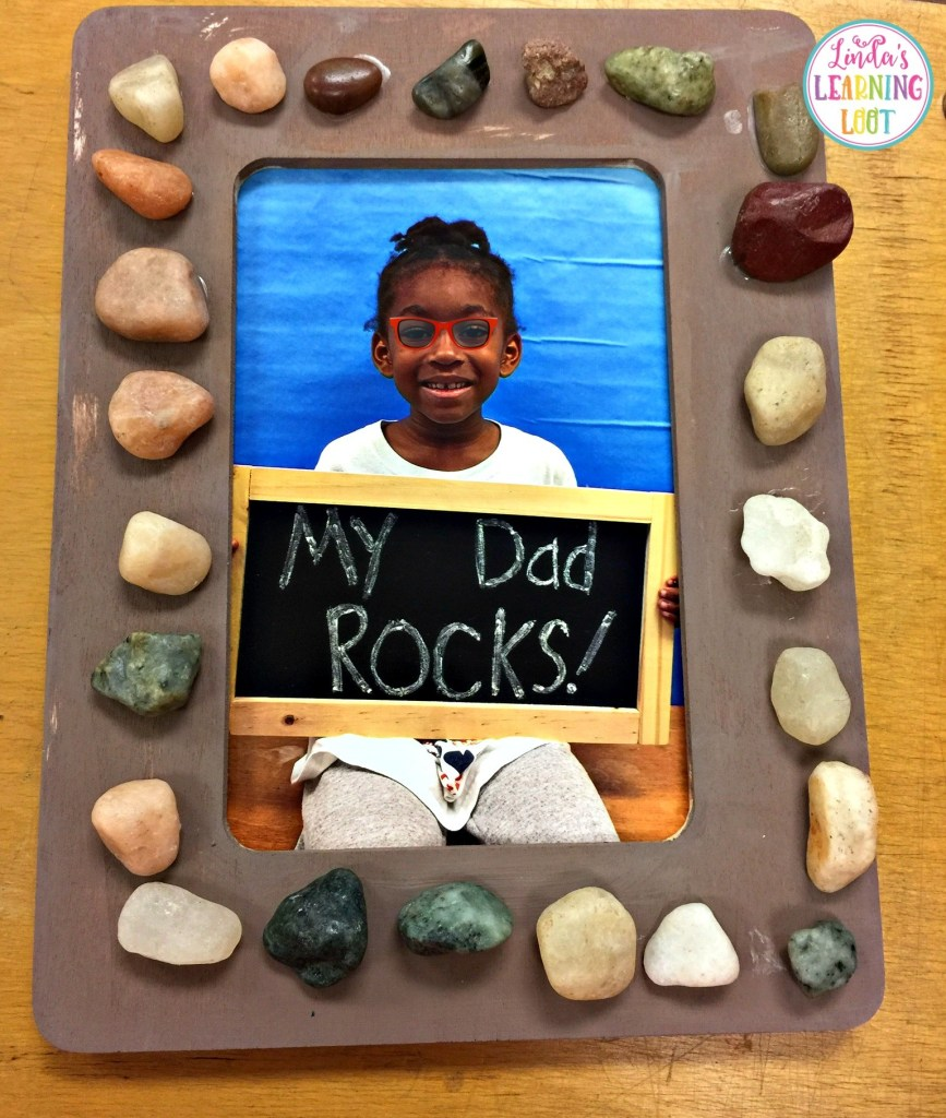 Easy Father's Day crafts for kids: Tell him he rocks on Father's Day with this craft idea from Linda's Learning Loot