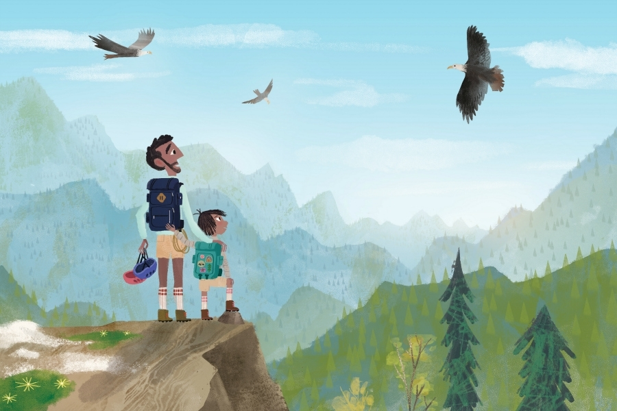 A beautiful new children's book, just in time for Father's Day | Sponsored Message