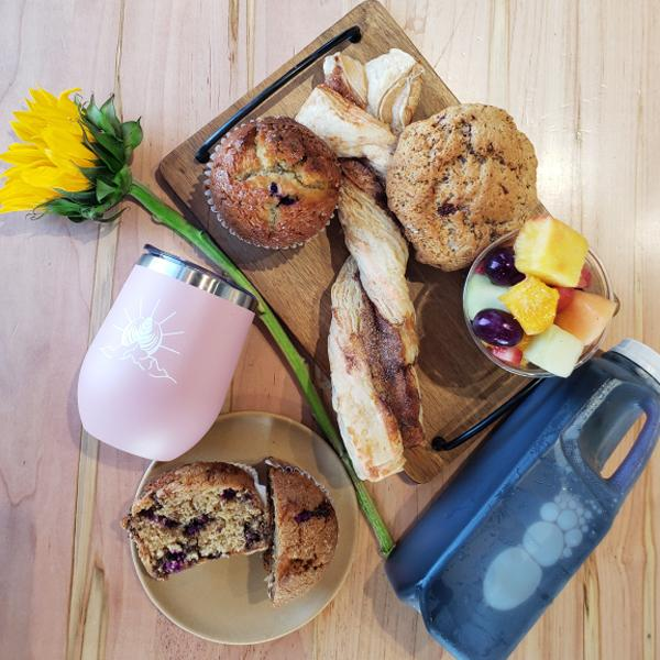 Send grandma a Mother's Day brunch kit like this one from Klatch Coffee