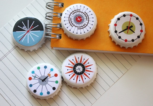 Free printables from How About Orange make this magnet craft a great Mother's Day gift