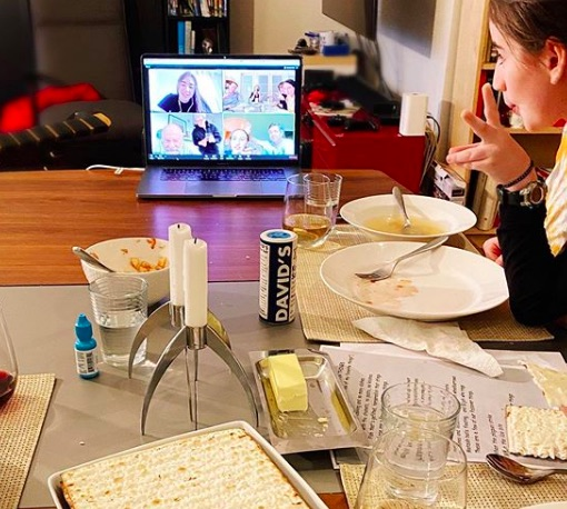 Host a Zoom party with grandma for Mother's Day