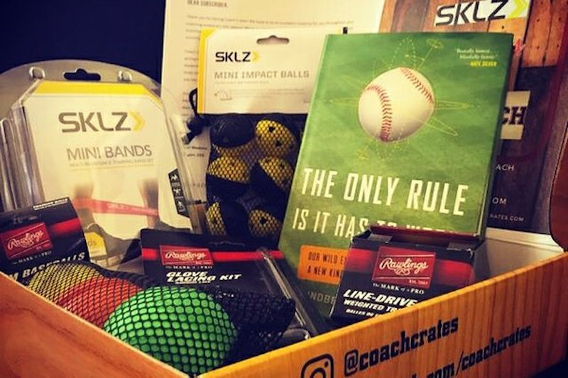 Cool subscription gifts for men: For the dad who coaches every single Little League season, a Coach Crates subscription is just what he needs.