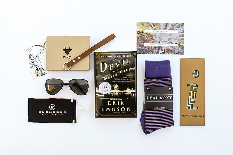 Cool subscription gifts for men: Culture Carton sends great books and cool accessories for men.