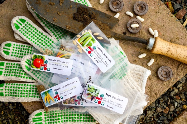 Cool subscription gifts for men: Urban Organic Gardener's mostly heirloom seed subscription is perfect for the guy with a green thumb.