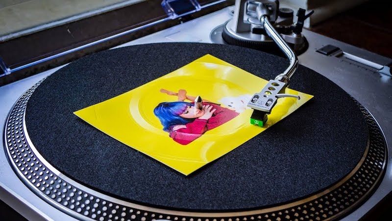 Cool subscription gifts for men: The super affordable Vinyl Post sends you new indie vinyl records each month.