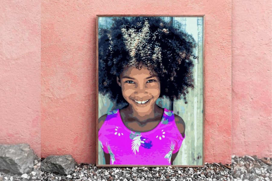 These custom photo paint-by-number art kits are the coolest gift of the summer