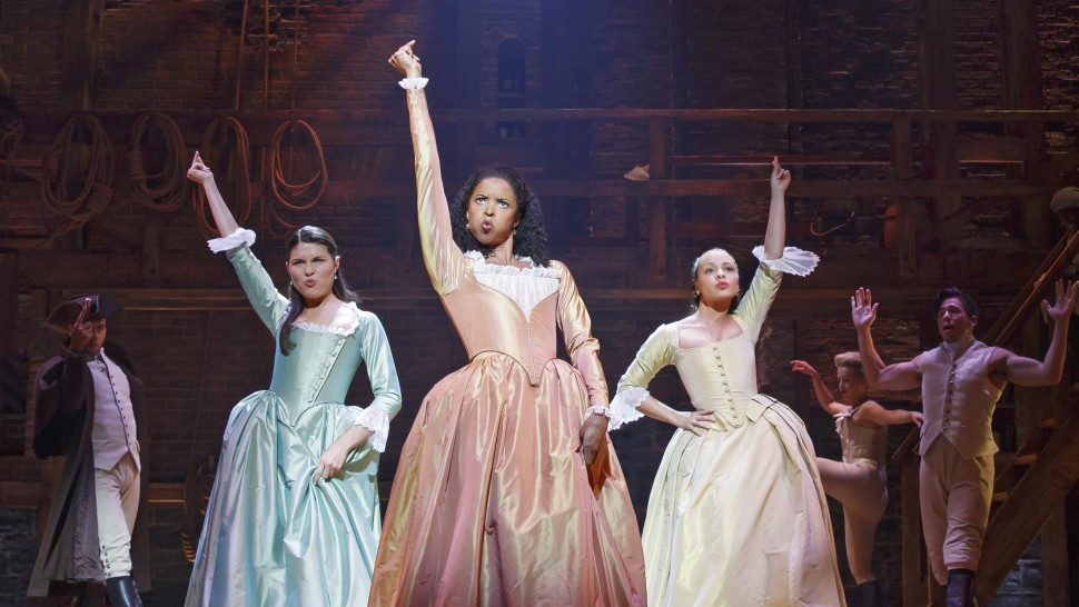 The original cast of Hamilton, including the Schuyler sisters, will all appear in the filmed version. Here's how to stream it starting in July
