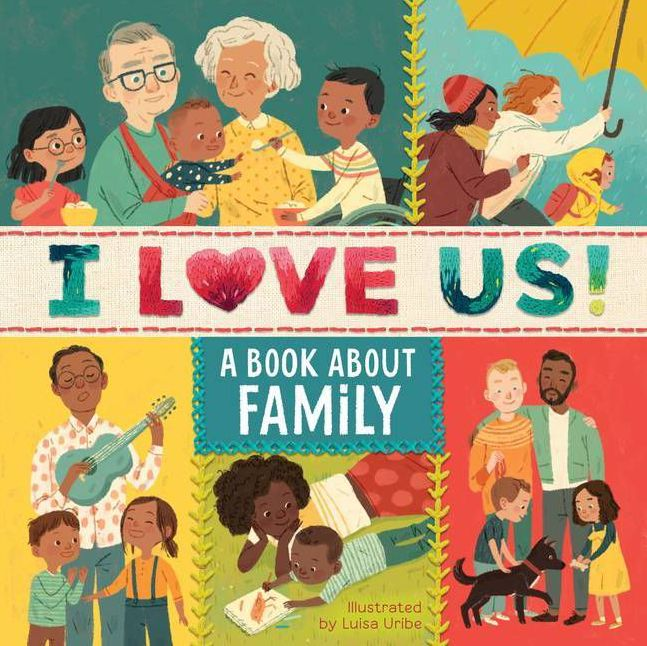 Cool Father's Day gifts under $20:  I LoveUs: A Book about our family with your own family tree to fill in