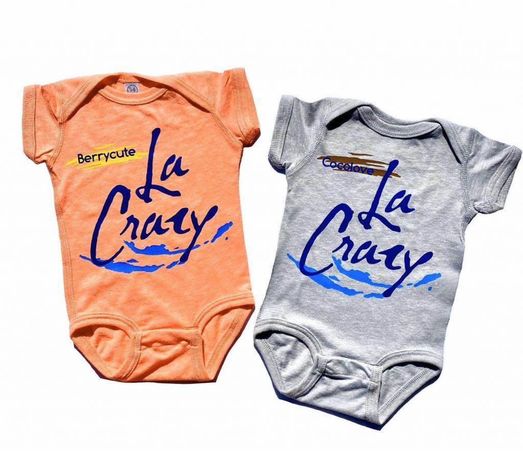 Best baby shower gifts under $50: La Croix parody onesie twin set | Cool Mom Picks Baby Shower Gift Guide