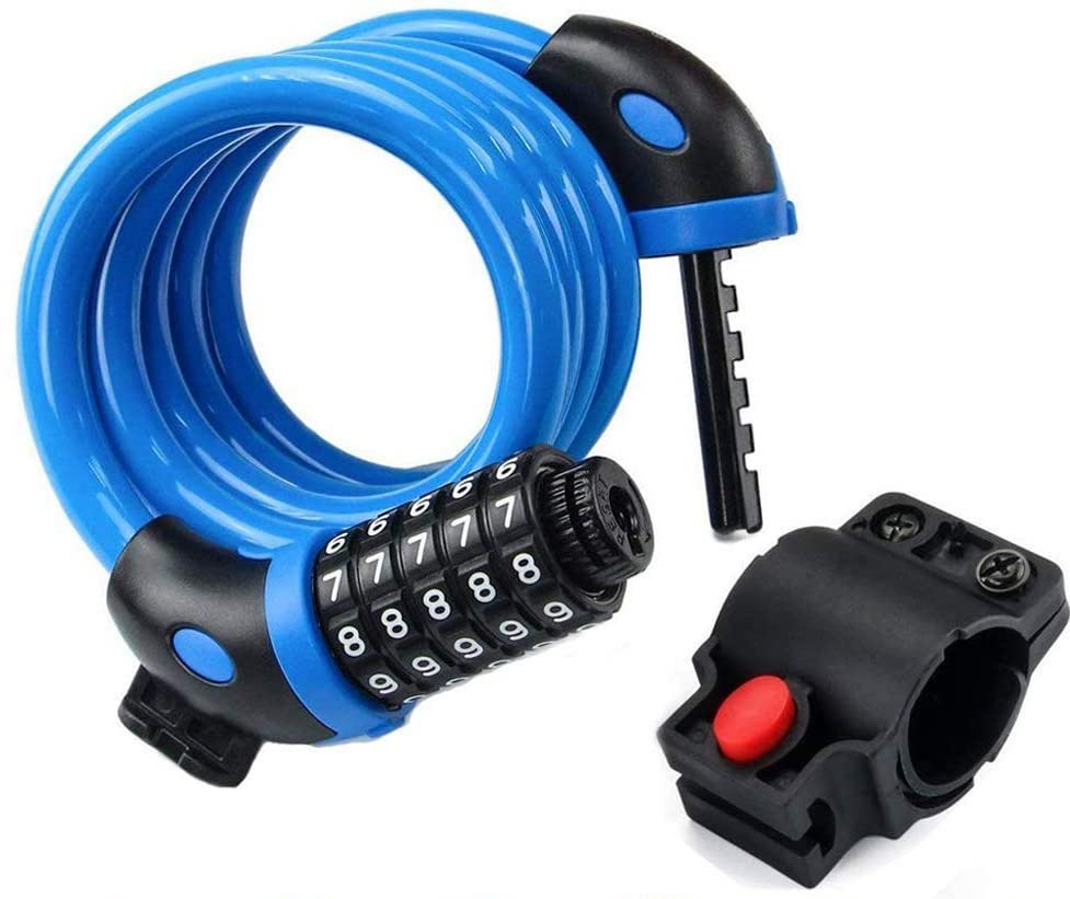 Cool Father's Day gifts under $20: Ndakter resettable bike combination lock