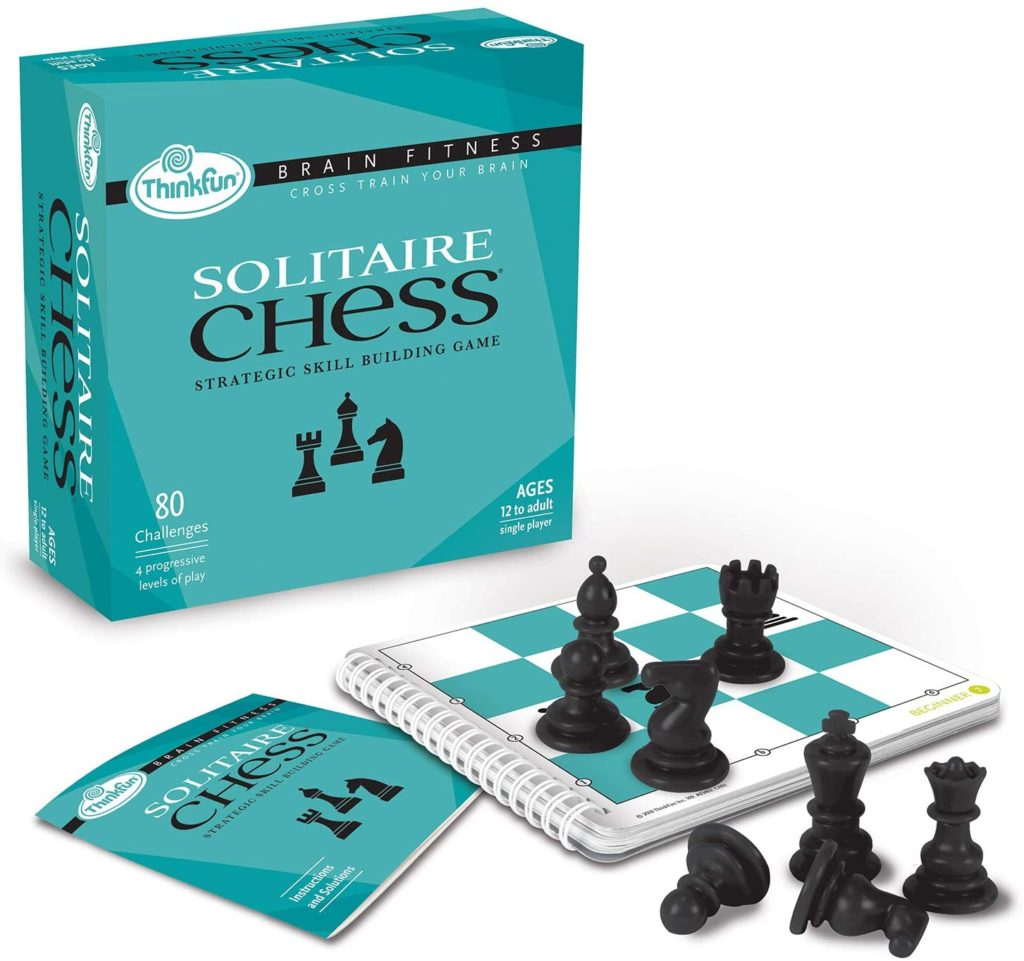 Cool Father's Day gifts under $20:  Solitaire chess strategy game