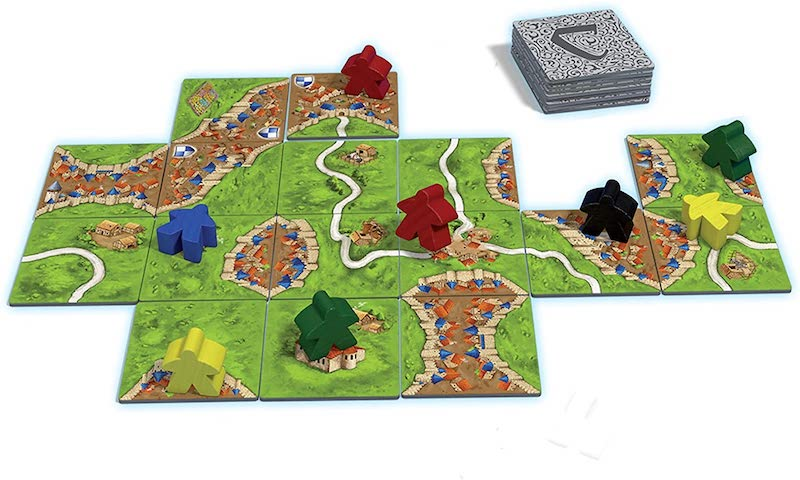 4 great board games that older and younger kids can play together: Carcassone