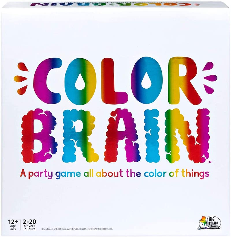 4 great board games that older and younger kids can play together: Color Brain